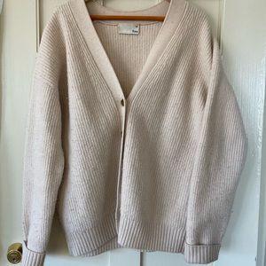 Aritzia Wilfred Free cardigan sweater